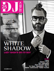 DJ Times December 2013 Cover