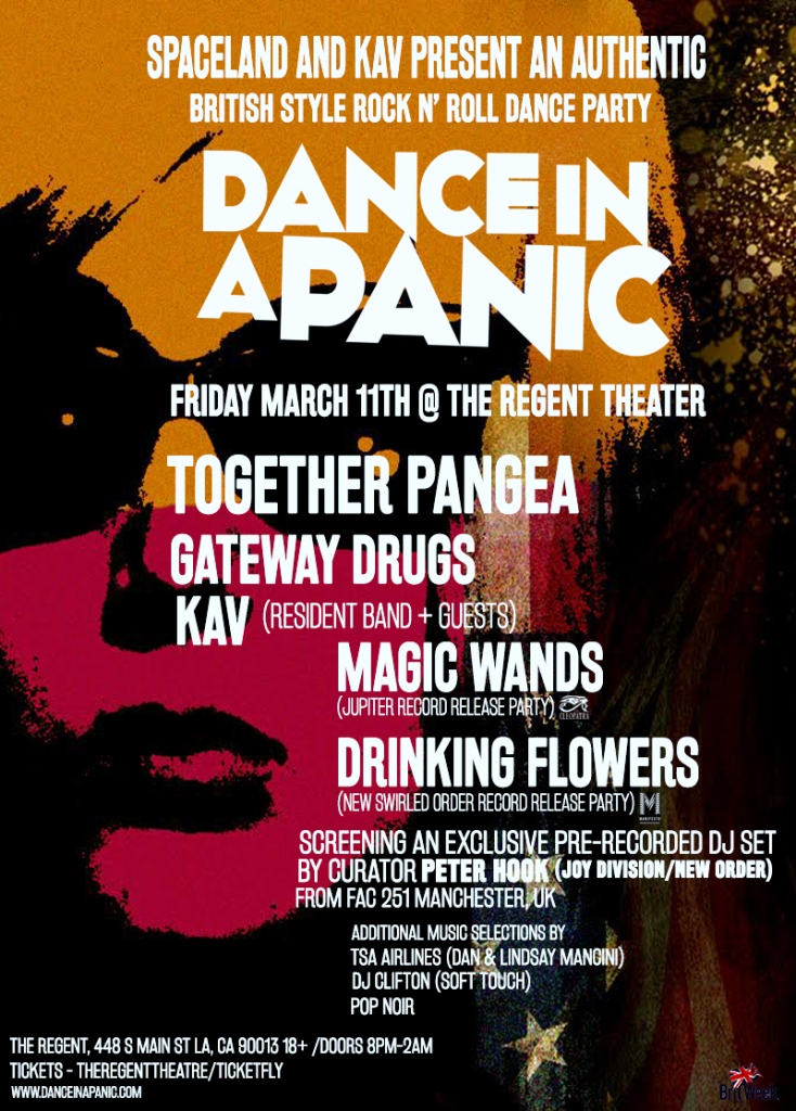 The Regent Theater - Dance In A Panic Updated Flyer (1)